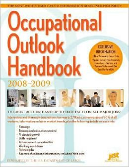 Occupational Outlook Handbook, 2008-2009