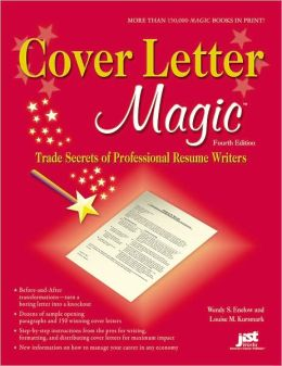 cover letter magic trade secrets of professional resume