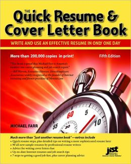 make a quick cover letter
