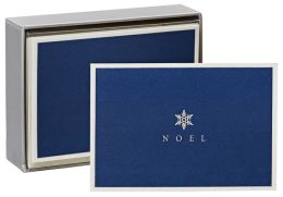 Noel Snowflake Christmas Boxed Card