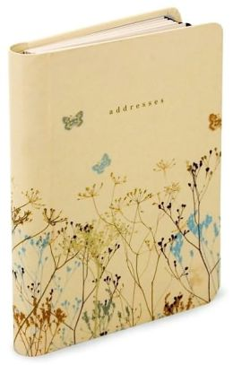 Butterflies Address Book