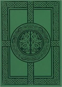 Green Celtic Lined 5x7 Journal