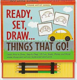 Ready, Set, Draw.Things That Go!