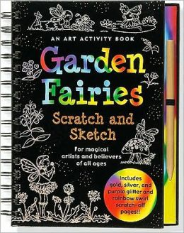 Scratch and Sketch Garden Fairies