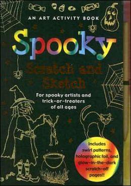 Spooky Scratch & Sketch