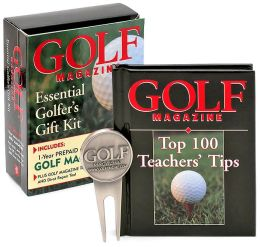 Golf Magazine Essential Golfer's Gift Kit: One Year Magazine Subscription, Book, and Divot Repair Tool Kit