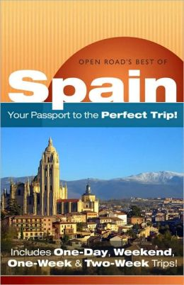 Open Road's Best Of Spain