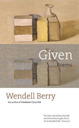 Given: Poems