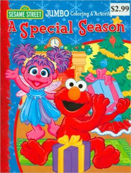 A Special Season Jumbo Coloring & Activity Book
