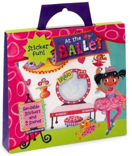 At the Ballet Stickers Activity Tote Set of 40