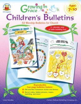 Growning in Grace Children's Bulletins