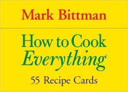 How to Cook Everything - 55 Recipe Cards