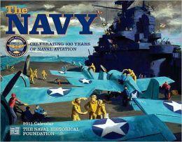 2011 Navy Wall Calendar