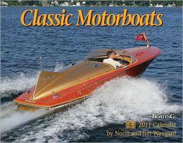 2011 Classic Motorboats Wall Calendar