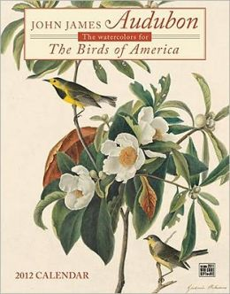 2012 John James Audubon Birds Wall Calendar