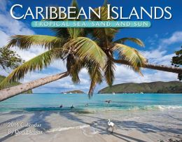 2014 Caribbean Islands Wall Calendar