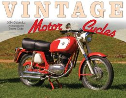 2014 Vintage Motorcycles Wall Calendar
