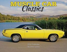2014 Muscle Cars Wall Calendar