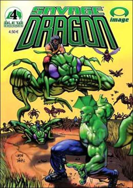 Savage Dragon V.4: Los Jinetos Insectos