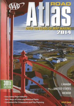 AAA Road Atlas 2014