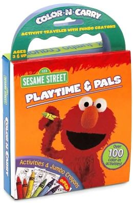 Sesame Street Playtime & Pals: Color-n-Carry