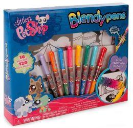 Littlest Pet Shop Mini Blendy Pens Boxed Kit