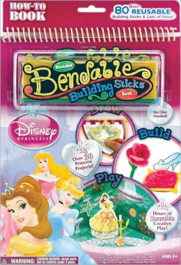 Disney Princess Bendable Building Sticks Book