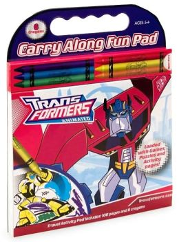 Transformers Animated (Carry Along Fun Pad Series)