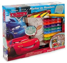 Cars Marker By Number Boxed Kit