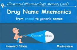 Illustrated Pharmacology Memory Cards: Drug Name Mnemonics: From Brand to Generic Names