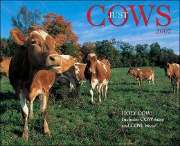 2007 Cows Wall Calendar