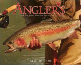 2008 Angler's Fly Fishing Wall Calendar