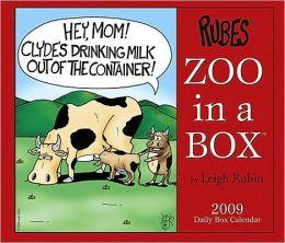 2009 RUBES Zoo In A Box Calendar