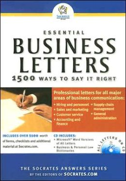 Essential Business Letters: 1500 Ways to Say It Right