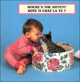 Where's the Kitten? (Haitian Creole/English)