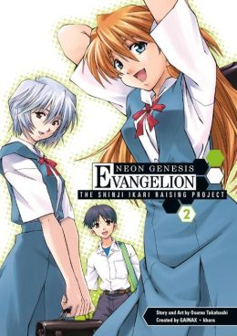 Neon Genesis Evangelion: The Shinji Ikari Raising Project, Volume 2