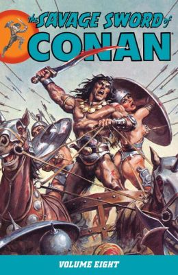 The Savage Sword of Conan, Volume 8
