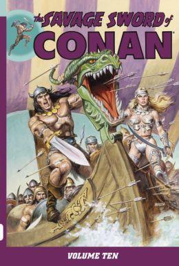 The Savage Sword of Conan, Volume 10