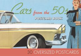 Cars from the 50s Postcard Book