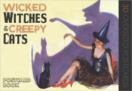 Wicked Witches and Creepy Cats:: A Halloween Postcard Book