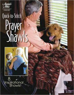 Quick-to-Stitch Prayer Shawls