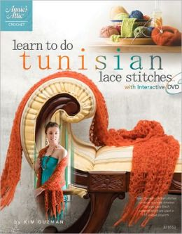 Learn to Do Tunisian Stitches: With Interactive DVD