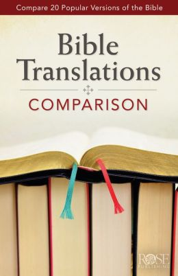Bible Translations Comparison - 10 Pack (Compare 20 Bible Translations) Rose Publishing