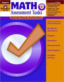 Math Assessment Tasks, Grade K
