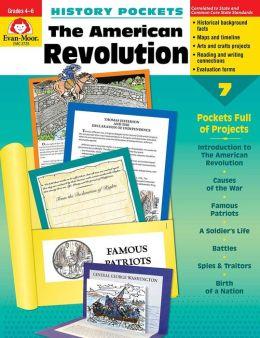 History Pockets, The American Revolution, Grades 4-6+