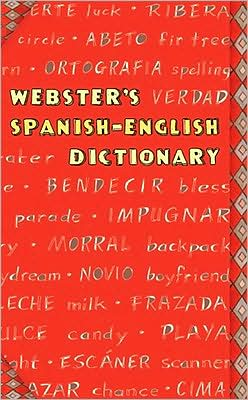 Webster's Spanish-English Dictionary (red Fashion)