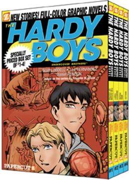 Hardy Boys Boxed Set: Volumes 1-4 (The Hardy Boys Graphic Novel Series)