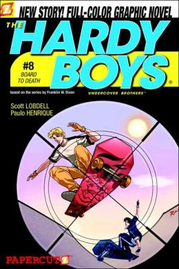 Board to Death (Hardy Boys Graphic Novel Series #8)