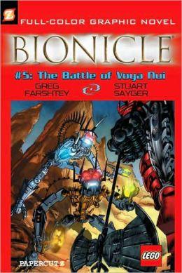 Battle of Voya Nui (Bionicle Graphic Novels Series #5)