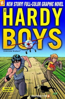 Chaos at 30,000 Feet! (Hardy Boys Graphic Novel Series #19)
